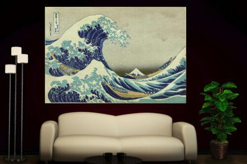 The Great Wave off Kanagawa Katsushika Hokusai Canvas Prints Fine Art Print