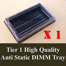 2X Anti Static PC SERVER Memory DIMM tray container box DDR DDR2 DDR3