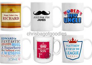 Image Is Loading PERSONALISED SON UNCLE My HUSBAND BOSS Novelty Mug
