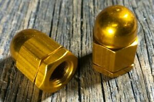 OLD-SCHOOL-BMX-AXLE-HUB-NUTS-SET-GOLD-ANODIZED-AXLE-NUT-NOS-VINTAGE-OLDSCHOOL