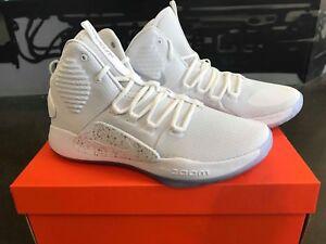 Dettagli su Nike Hyperdunk x 2018 Pure White Ice AO7893 101 Scarpe Da Uomo Basket Scarpe da ginnastica mostra il titolo originale