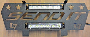 """Custom /""""Send Nudes/"""" Front Grill w// LED Light Bar for Polaris General 1000 16-18"""
