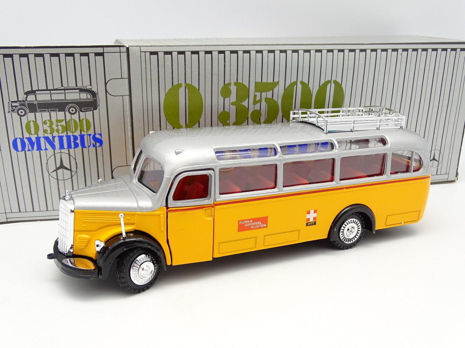 NZG 1 40 - Mercedes Omnibus O3500 Bus Car Autocar Poste Suisse