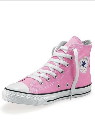 Converse à Chaussures Rose lacets Rose Star All Taille