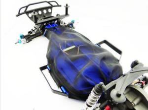 Pour-Traxxas-1-10-Controle-Radio-Voiture-mise-a-niveau-Slash-2wd-Galaxie-compacte-lumineuse-chassis