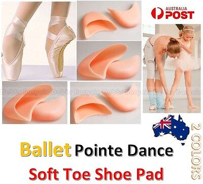 Pro Women Girl Silicone Toe Cap Cover Soft Ballet Pointe Dance Shoe Pads Cushion