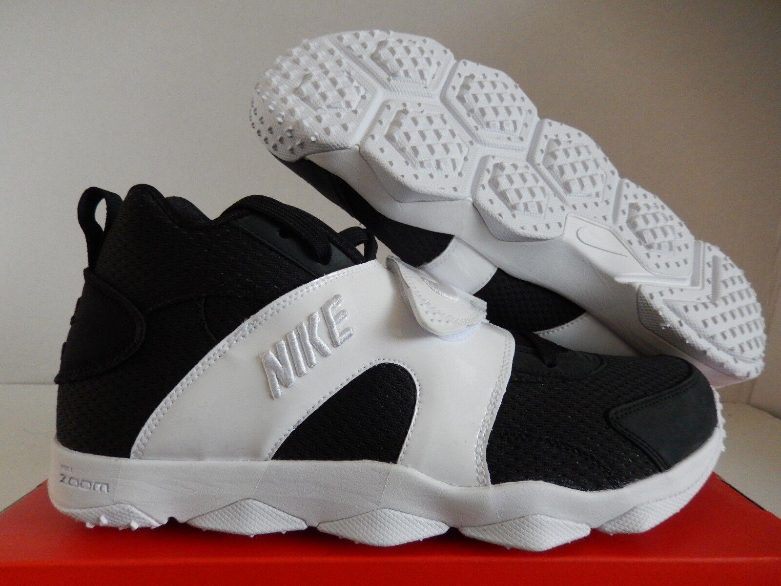 NIKE ZOOM VEER BLACK-WHITE-WHITE SZ 8 [844675-001]