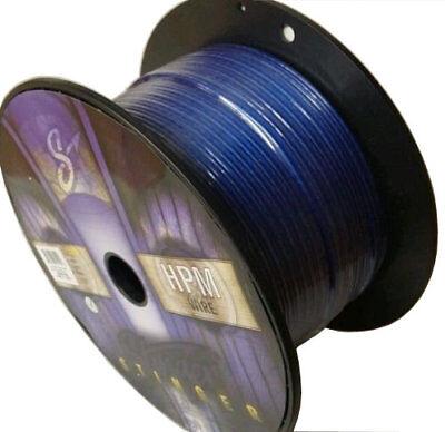 100 Feet Stinger HPM Series 16 Gauge AWG Matte Blue Copper Speaker Wire SHW516B