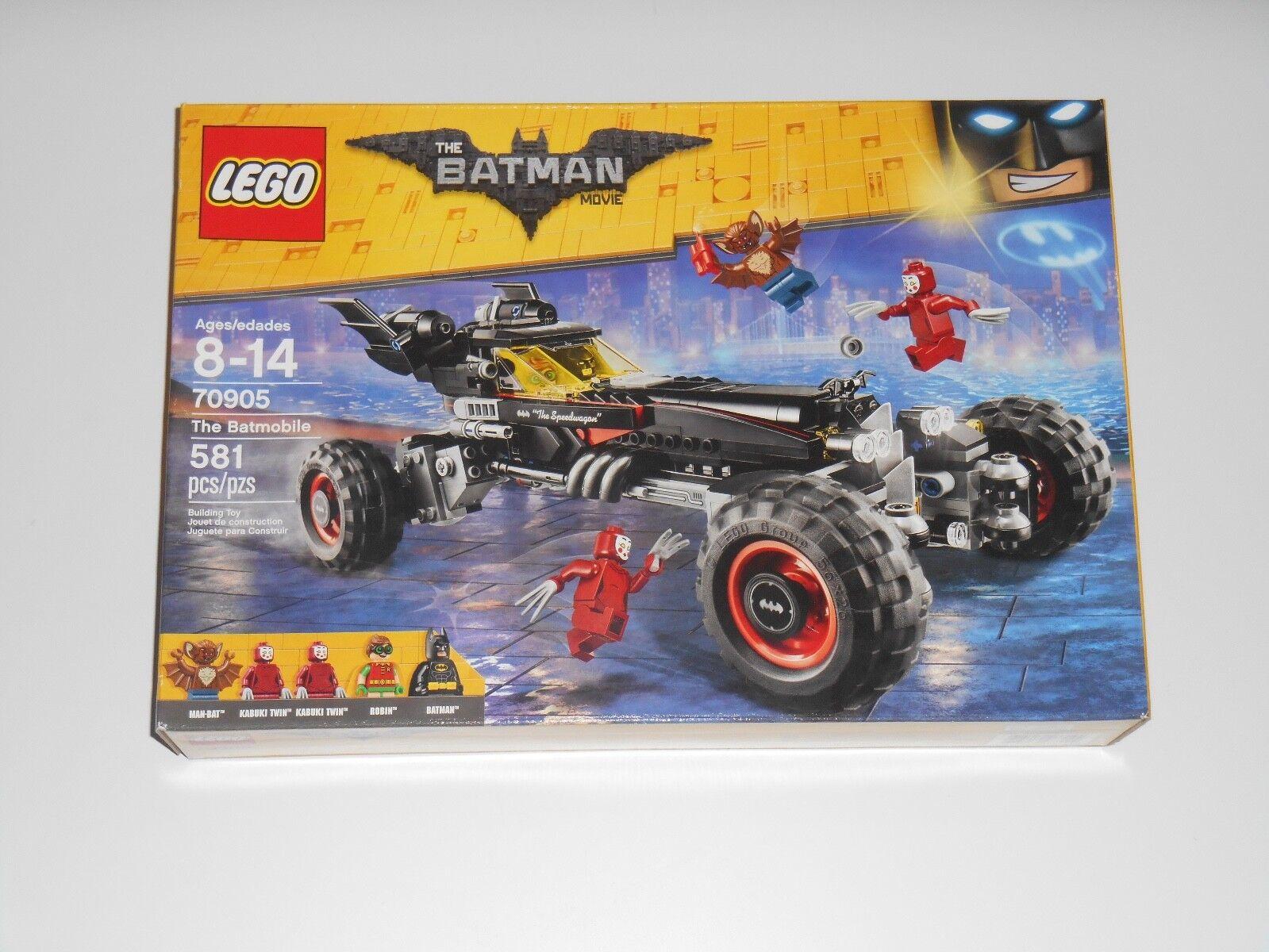2016 Neuf Lego 70905 BAThomme  LA BATMOBILE voiture dc comic super héros 5 minifigs  pas de taxes