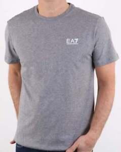 2567cc54160e4 Emporio Armani EA7 Core Tee in Grey Marl - short sleeve ID t shirt ...