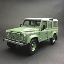 New 1/18 AR Land Rover Defender 110 Open close car model heritage Ed HU166 Green