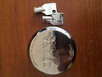 One(1) Cobra Puck Lock Round Tubular Key- Hidden Shackle new Keyed Alike