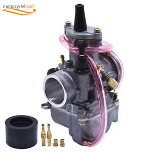 28mm-PWK-Power-Jet-Carburetors-Carb-Flat-Slide-For-OKO28-JOG-DIO-KR150-RTL250