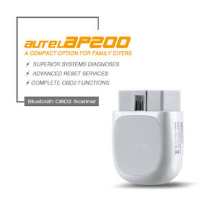 Autel AP200 Code Reader OBD2 Diagnostic Scanner APP Oil/EPB/BMS/TPMS