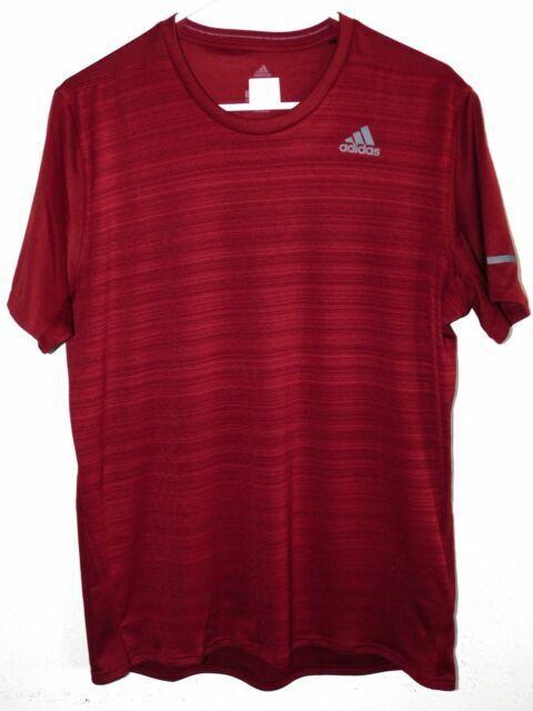 New Adidas Gray Short Sleeve CrewNeck Climalite Nova Athletic Shirt Size 2XL-56A