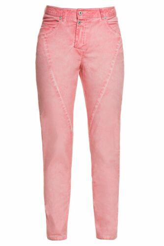 Gina Laura Pantalon Anna kg diagonale couture Abricot NEUF