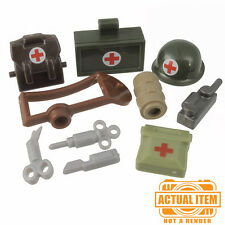 """Brickforge """"US MEDIC"""" Accessory Pack for Lego Minifigures WW2 NEW"""