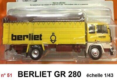 1//43 IXO BERLIET PHL 10 Grand Raid 1966 Prix Spécial 19,90 € au lieu de 39,90 € Bus 23