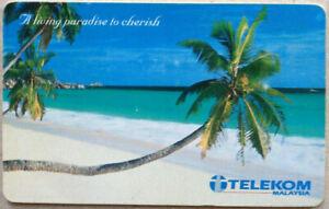 Malaysia-Used-Phone-Card-Pulau-Redang