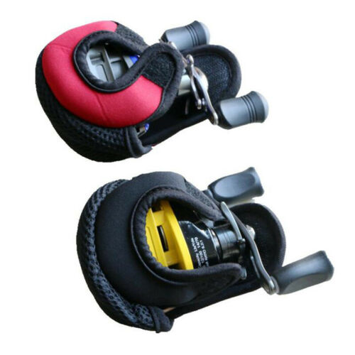 1x Fishing Reel Baitcasting Spinning Reel Bag Protective Case Cover Pouch HoldFB