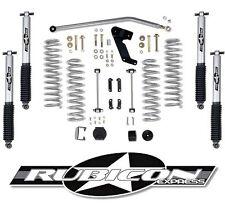 """Rubicon Express 3.5"""" Lift Kit w/ Mono Tube Shocks 2007-2017 4dr Jeep Wrangler JK"""