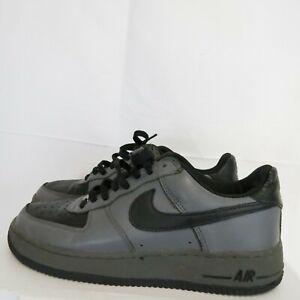 Details about Nike Air Force 1 Men's 7.5 EU 40.5 Athletic Low Top 306353 002 00 Gray black