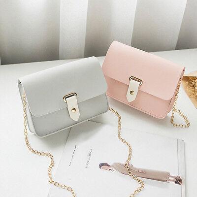 1PC Elegant Handbag Small Shoulder Bags Pure Color Women Tote Bags Student Bags