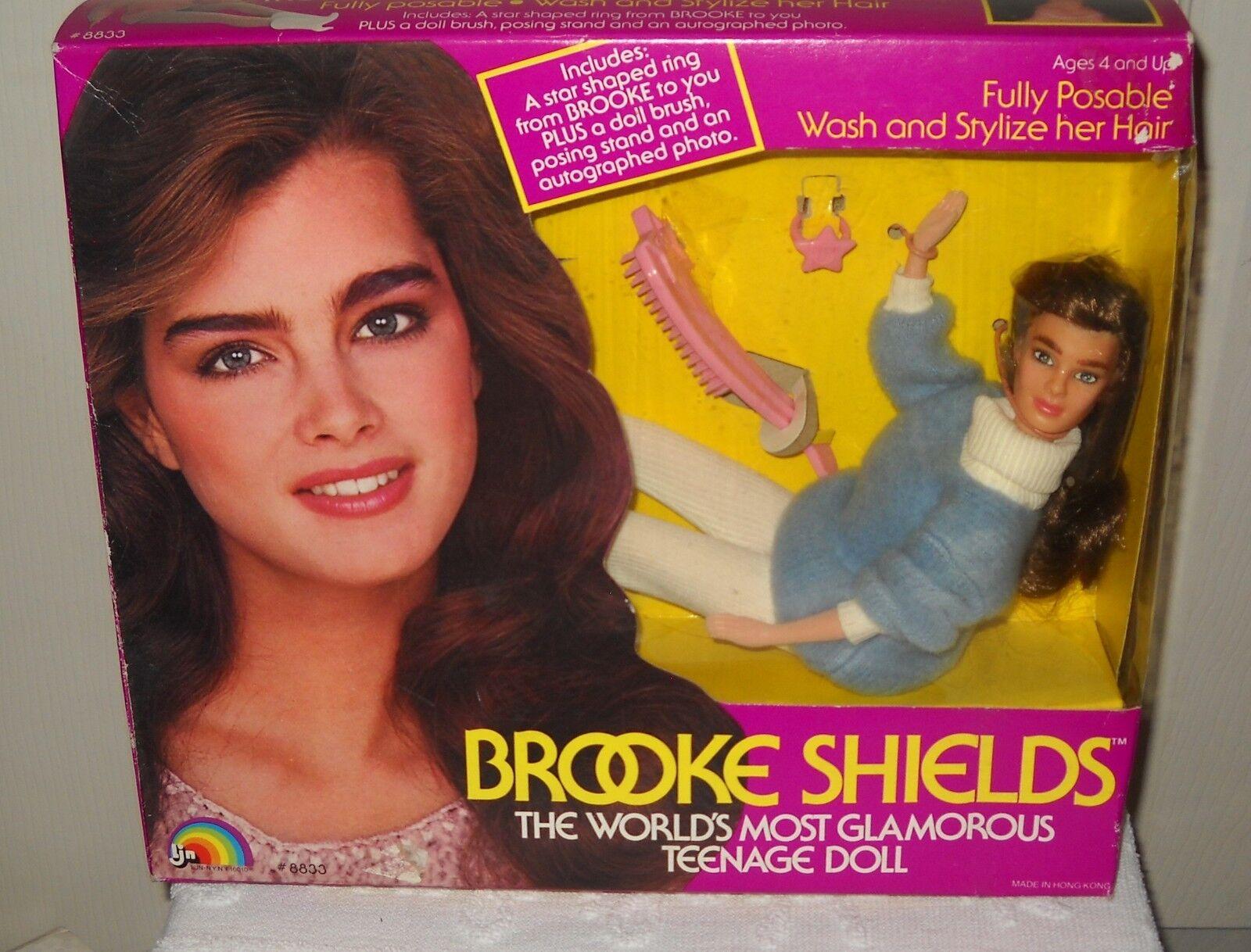 Nunca quitado de la Caja Vintage Ljn Brooke Shields Muñeca De Moda