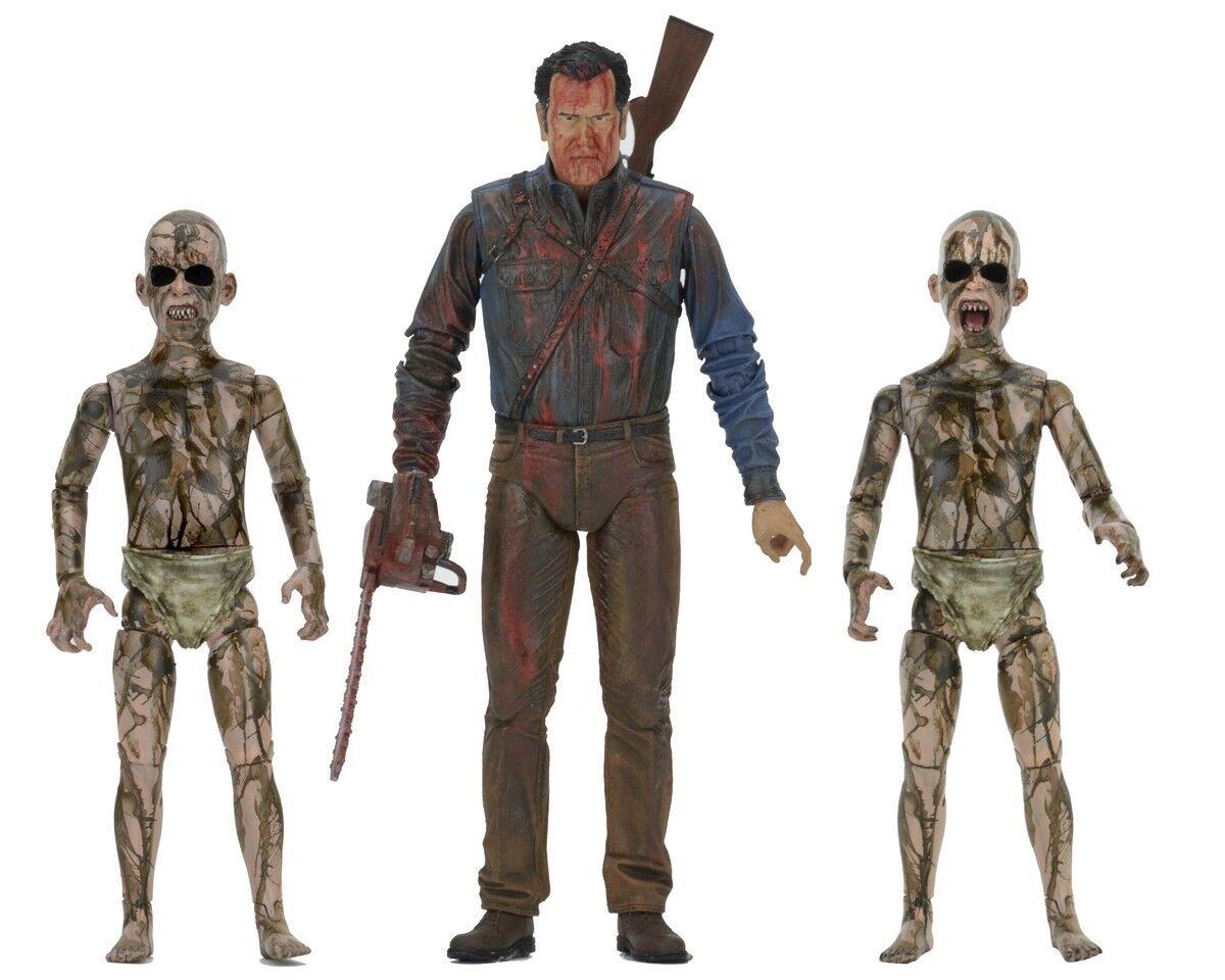 ASH &  EVIL DEAD Bloody Ash Faces Demon Spawn NECA azione cifra 17Cm  vendite dirette della fabbrica