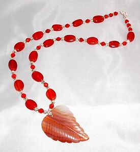 INDIAN-SUMMER-CARNELIAN-CRYSTAL-STERLING-21-034-NECKLACE