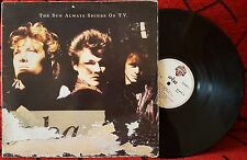 "A-HA **The Sun Always Shines On T.V.** SCARCE 1985 12"" Single SPAIN *DISCOS CBS*"