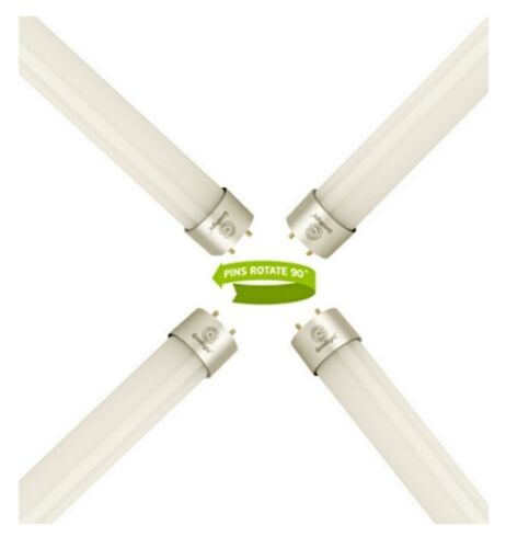 Goodlight T8 led 2FT 10W tube pour remplacer fluorescent daylight 5000K-5500K 600mm