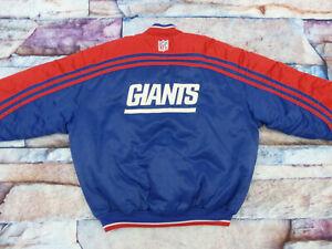 NEW-YORK-VINTAGE-GIANTS-STARTER-RETRO-BOMBER-NY-JACKE-NFL-CASUAL-GR-L-TIP-TOP