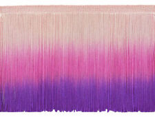 """11 Yards Light Rose Pink 2/"""" Chainette Fringe Trim Ballet Slipper"""