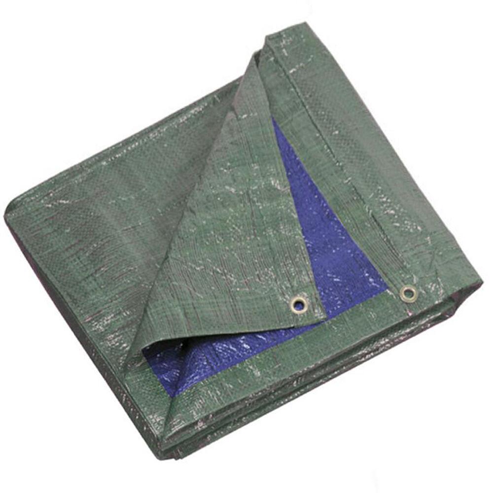 Ribimex badetuch con ojales difícil azul verde 5x8mt 140gr qm presentación de informes