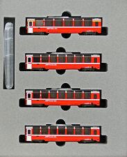 KATO N Scale Rhaetische Bahn Bernina Express 10-1319 Add on 4 Car Set