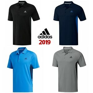 big sale 07800 e114d Details about adidas 2019 Mens Ultimate 365 ClimaCool Solid Short Sleeve  Golf Polo Shirt