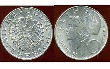 autriche austria 10 SCHILLING 1975