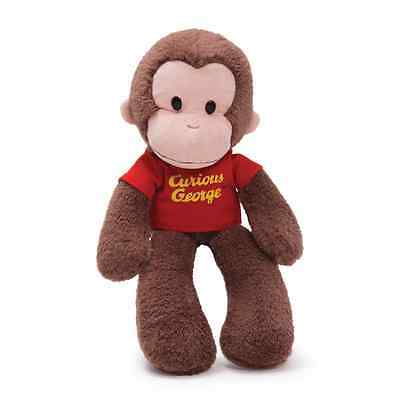 "GUND - 12""  CURIOUS GEORGE  - HUGGABLE TAKE ALONG BUDDY -  #4030391"