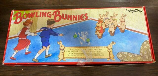 Bowling Bunnies Soft Pins Parlor Games Schylling Easter Game For Sale Online Ebay