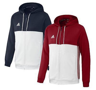 Adidas Hoodie Herren T16 Team blau rot Trainingsjacke A5410