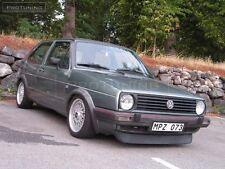 VW Golf MK2 2 Frontstoßstange GTI LIPPEN Kinn Spoiler Sport Valance Splitter