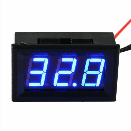 50-110℃ Thermometer digital LED Temperatur Anzeige 12V 5v Temperaturanzeig S9Y4