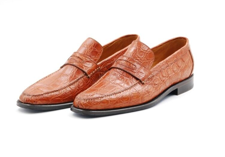 Sutor Mantellassi - Mocassino Loafer in coccodrillo