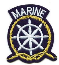 Aufnäher Anker  Patch Anchor Segeln Marine Seefahrt