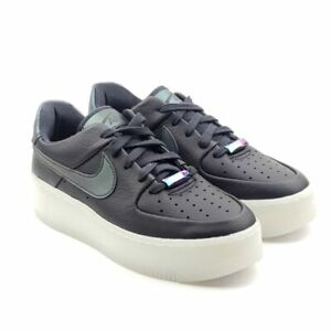 Size 7.5 - Nike Air Force 1 Sage Low LX Oil Grey for sale online ...