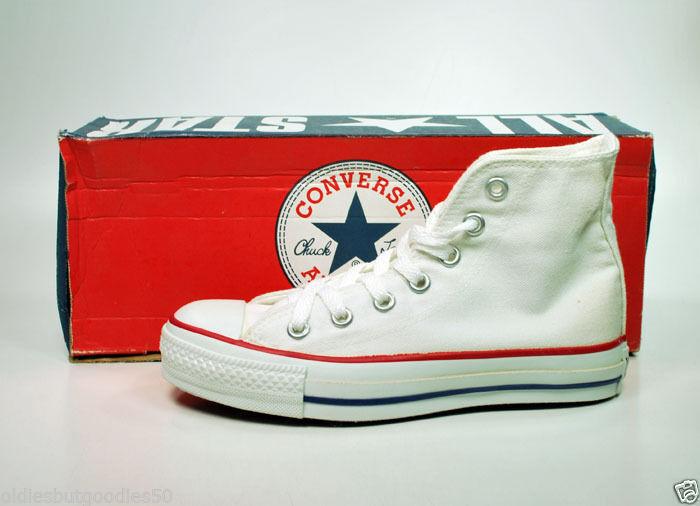 CONVERSE All Star CT Hi Optical White MADE IN USA Sneaker M7650 Women 5/Men 3