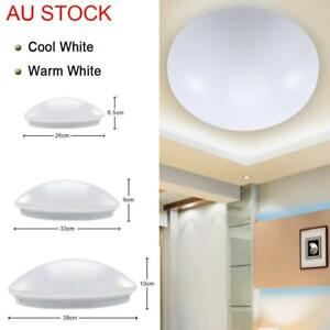 Details About Led Oyster Ceiling Light Ing 20w 30w 40w Slimline 6000k Cool Warm White Gl