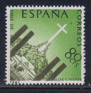 ESPANA-1959-NUEVO-SIN-FIJASELLOS-MNH-EDIFIL-1248-MONASTERIO-VALLE-DE-CAIDOS