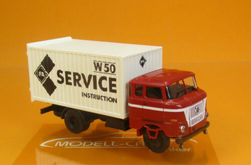 Busch Espewe 95175 IFA W50 MK IFA Service Instruction 1:87